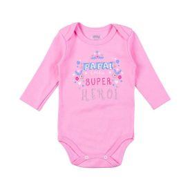 Body de Bebê Malha Suedine Temático Alakazoo Super Herói