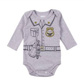 Body de Bebê Suedine Frase Alakazoo Segurança