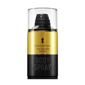 Body Spray The Golden Secret Antonio Banderas - 250ml