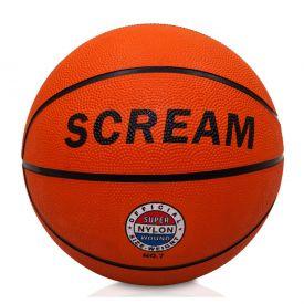 Bola de Basquete Scream Clássica N7 Yoyo Kids - Laranja