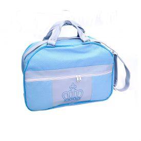 Bolsa De Maternidade M Malaspina Yoyo Baby - Azul