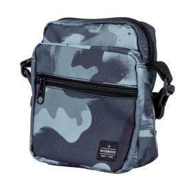 Bolsa Shoulder Bag Com Estampa Nicoboco - VERDE MILITAR
