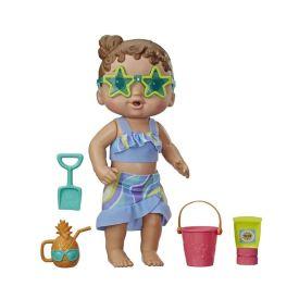 Boneca Baby Alive Sol E Areia Hasbro - E8718 - Morena