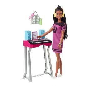 Boneca Barbie Estúdio Mattel Dreanhouse Adventures - GYG40