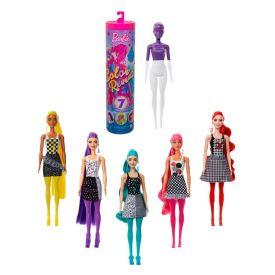 Boneca Barbie Fashionista Mattel Color Reveal Monocromática - GWC56