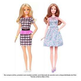 Boneca Barbie Fashionista Power Print Mattel - FBR37