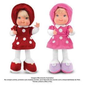 Boneca De Pelúcia Baby Fashion 39Cm Cortex - 0225