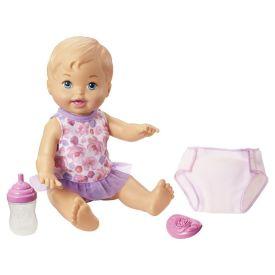 Boneca Little Mommy Faz Xixi Fisher-Price - Rosa
