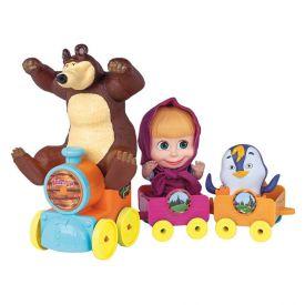 Boneca Masha E O Urso No Trenzinho Cotiplás - 2403
