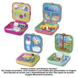 Boneca Polly Pocket Esconderijos Secretos Mattel - GDK76