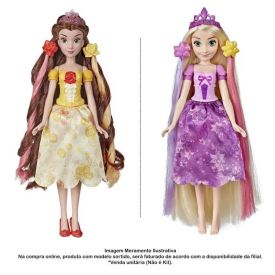 Boneca Princesas Disney Cabelos Mágicos Hasbro - E6673