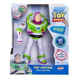 Boneco Buzz Lightyear Com Som Toyng - 38169