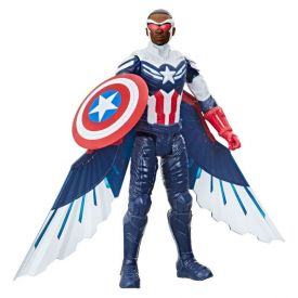Boneco Capitão América Falcão Hasbro Titan Hero Series Pré-Venda - F2075