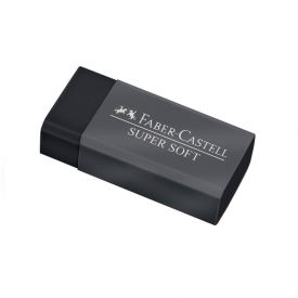 Borracha Supersoft Dust-Free Faber-Castell - SM/SOFTBOR
