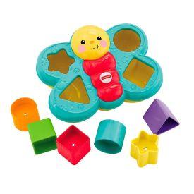 Brinquedo De Encaixar Borboleta 7 Peças Fisher-Price - DIVERSOS