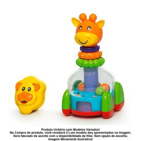 Brinquedo Educativo Baby Mix 863 Calesita Tateti - Sortido