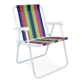Cadeira Alta Fixa De Aço Mor - Sortido