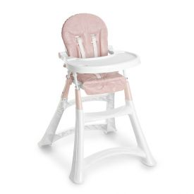 Cadeira Alta Premium Galzerano - Rosa