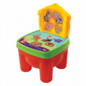 Cadeira Brinkadeira Fazendinha Com Animais Dismat - MK312