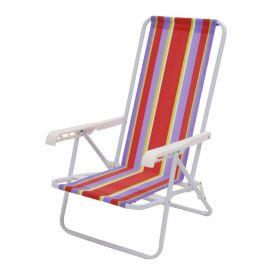 Cadeira de Ferro Reclinável 4 Posições Sortida  2004 Mor  - DIVERSOS