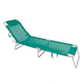 Cadeira Espreguiçadeira Alumínio Turquesa Mor - 2702