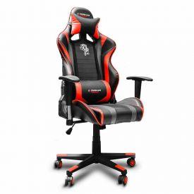 Cadeira Gamer Black Hawk Elg - Preto e Vermelho