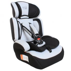 Cadeira para Auto de 9 a 36Kg Bebê Faceiro - Preto/Cinza
