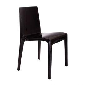 Cadeira Plástica Taurus Plasutil - Preto