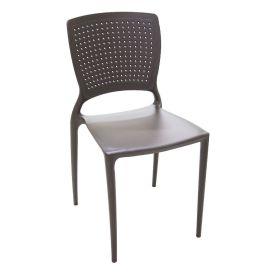 Cadeira Sem Braços Marrom Safira Tramontina - 92048/109