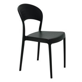 Cadeira Sissi Encosto Fechado Tramontina - Preto