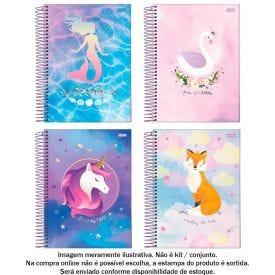 Caderno Espiral 15 Matérias Dream 240 Folhas Jandaia - 69004-21