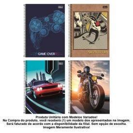 Caderno Espiral 10 Matérias 200 Folhas Tilibra - 590576