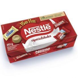 Caixa De Bombom Especialidades Nestlé - 251g