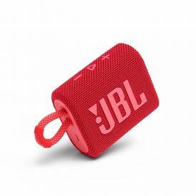 Caixa De Som Bluetooth Jbl Go 3 - Vermelho