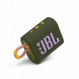 Caixa De Som Bluetooth Jbl Go 3 - Verde