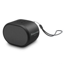 Caixa De Som Bluetooth Speaker Go Pbs05bt Philco - Preto