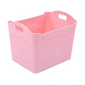 Caixa Organizadora Plasvale Paris 1,5 Litros - Rosa