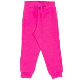 Calça 1 a 3 anos Moletom Felpado Yoyo Kids Pink