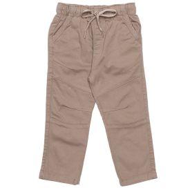 Calça 1 a 3 Anos Sarja Jogger Yoyo Kids Bege