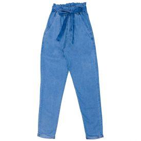 Calça 12 a 16 anos Jeans Clochard Marmelada Azul