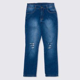 Calça 12 a 16 anos Skinny Jeans Hot Dog Jeans