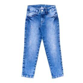 Calça 4 a 10 Anos com Aplique de Strass Marmelada Jeans