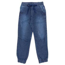 Calça 4 a 10 Anos Jeans Jogger com Bolsos Hot Dog