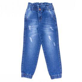 Calça 4 a 10 Anos Jeans Jogger Marmelada Jeans