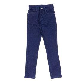 Calça 4 a 10 Anos Skinny com Amassado Hot Dog Jeans