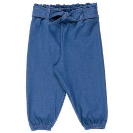 Calça Cotton Jeans P ao G com Amarração Frontal Yoyo Baby
