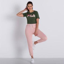 Calça Easy Piping Fila Rosa Ballet