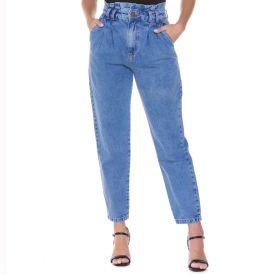 Calça Jeans Baggy Zune By Sabrina Sato Azul Medio