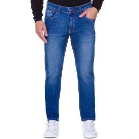 Calça Jeans Cinco Bolsos Marc Alain Blue Medio