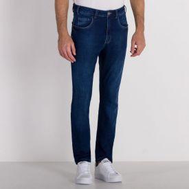 Calça Jeans Comfy Slim Marc Alain Blue Escuro